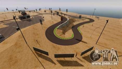Emplacement DesertDrift ProStreetStyle pour GTA 4 troisième écran