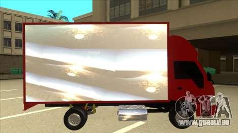 JAC 1040 für GTA San Andreas zurück linke Ansicht