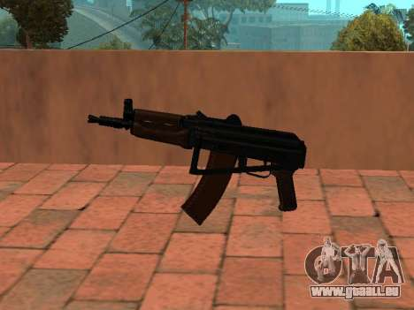 AKS-74U mm für GTA San Andreas