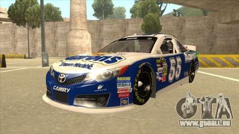 Toyota Camry NASCAR No. 55 Aarons DM blue-white pour GTA San Andreas