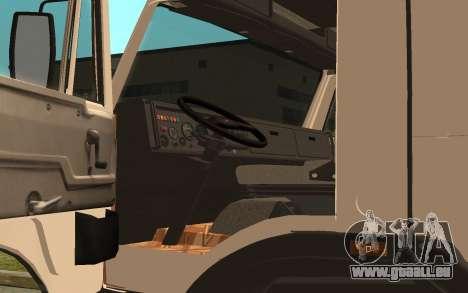 KAMAZ 54115 pour GTA San Andreas vue arrière