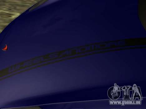 McLaren MP4-12C WheelsAndMore pour GTA San Andreas