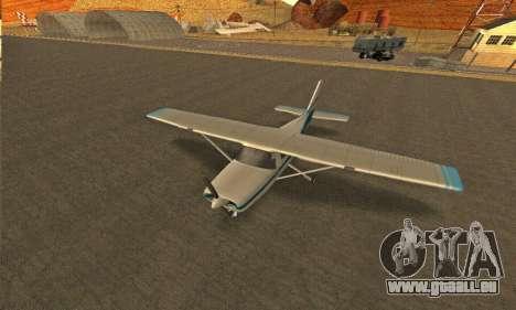Dodo GTA V pour GTA San Andreas vue arrière