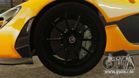 McLaren P1 2013 pour GTA 4 Vue arrière