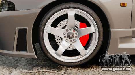 Nissan Skyline R33 NISMO 400R pour GTA 4 Vue arrière