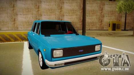 Zastava 128 1990 pour GTA San Andreas laissé vue