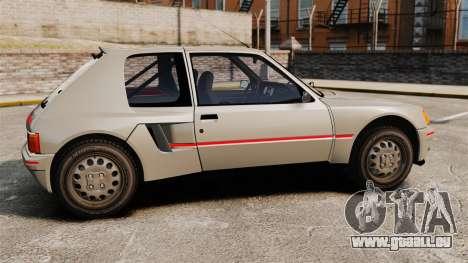 Peugeot 205 Turbo 16 für GTA 4 linke Ansicht