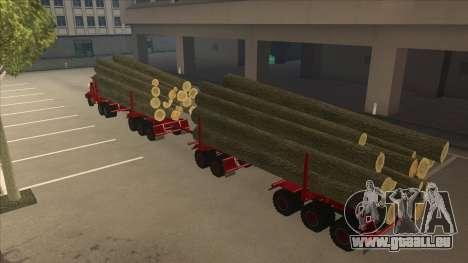 Hayes camion H188 pour GTA San Andreas vue intérieure