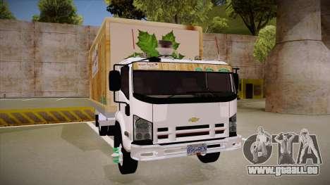 Chevrolet FRR Maple Syrup World pour GTA San Andreas vue arrière