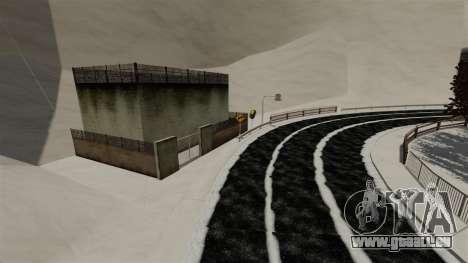 Endroit enneigé sanquer pour GTA 4 troisième écran