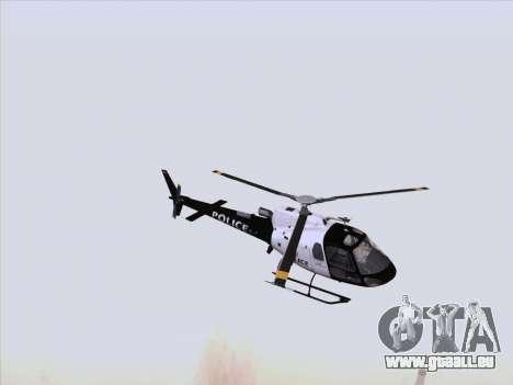 Police Maverick GTA 5 pour GTA San Andreas laissé vue