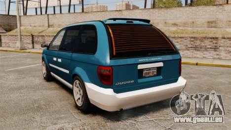 Dodge Grand Caravan 2005 für GTA 4 hinten links Ansicht