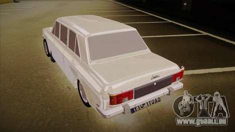Paykan Limousine pour GTA San Andreas vue arrière
