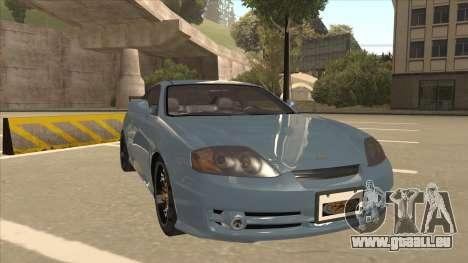 Hyundai Coupe V6 Soft Tuned v1 pour GTA San Andreas laissé vue