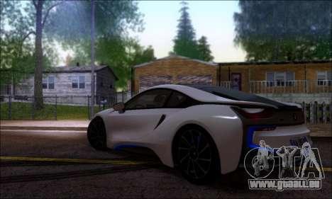 BMW I8 für GTA San Andreas linke Ansicht