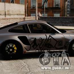 Porsche 911 GT2 RS 2012 Turbo pour GTA 4 est une gauche