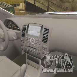 Nissan Pathfinder HGSS [ELS] pour GTA 4 Vue arrière