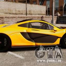 McLaren P1 2013 für GTA 4 linke Ansicht