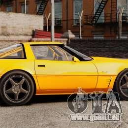Chevrolet Corvette C4 1996 v1 für GTA 4 linke Ansicht
