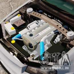Nissan Skyline R34 GT-R NISMO Z-tune pour GTA 4 Vue arrière
