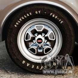 Oldsmobile Cutlass Hurst 442 1969 v1 pour GTA 4 Vue arrière