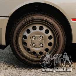 Peugeot 205 Turbo 16 pour GTA 4 Vue arrière