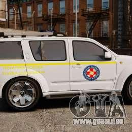 Nissan Pathfinder HGSS [ELS] für GTA 4 linke Ansicht