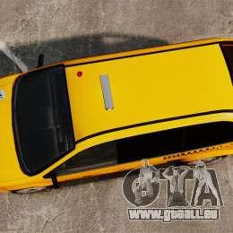 Dodge Grand Caravan 2005 Taxi NYC pour GTA 4 est un droit
