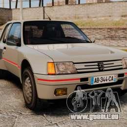 Peugeot 205 Turbo 16 pour GTA 4