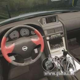 Nissan Skyline R34 GT-R NISMO Z-tune pour GTA 4 est une vue de l'intérieur