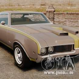 Oldsmobile Cutlass Hurst 442 1969 v1 pour GTA 4