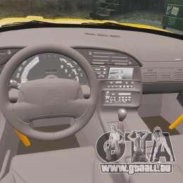 Chevrolet Corvette C4 1996 v1 für GTA 4 Innenansicht