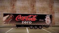 Sider semi-remorque Coca-cola zéro