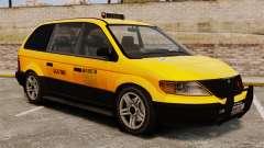 Taxifahrer mit neuen Festplatten