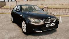 BMW M5 E60 Metropolitan Police Unmarked [ELS]