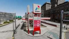 Pertamina station-service