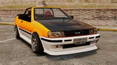 Version cabriolet de Futo