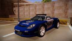 Porsche Carrera GT 2004 Police Blue