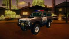 Ford Bronco 1966 Sheriff pour GTA San Andreas