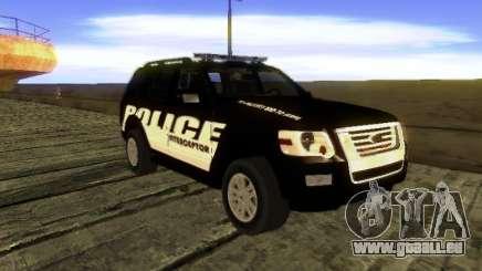 Ford Explorer 2010 Police Interceptor pour GTA San Andreas