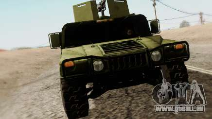 Humvee Serbian Army pour GTA San Andreas