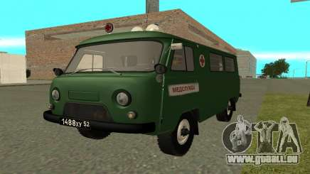 UAZ 452 ambulance pour GTA San Andreas