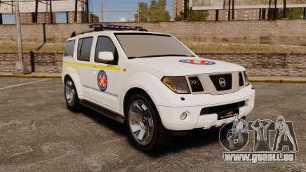 Nissan Pathfinder HGSS [ELS] für GTA 4