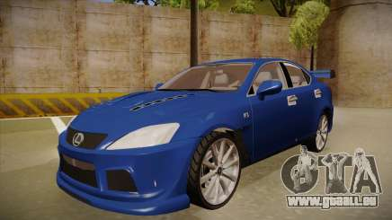 Lexus IS F V1 pour GTA San Andreas