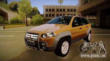 FIAT Palio Weekend Adventure Locker 2010 für GTA San Andreas