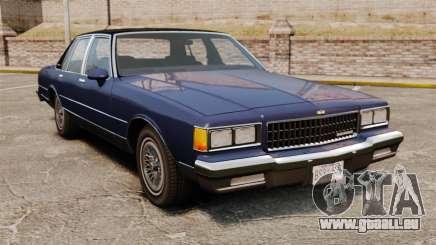 Chevrolet Caprice Brougham 1986 pour GTA 4