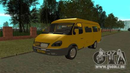 Gazelle 3221 für GTA San Andreas