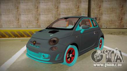 Abarth 500 Esseesse 2010 für GTA San Andreas