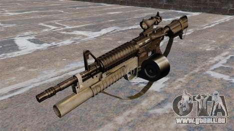 Automatische Carbine M4 C-Mag für GTA 4