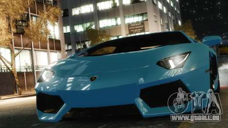 Lamborghini Aventador LP700-4 [EPM] 2012 pour GTA 4 est un droit